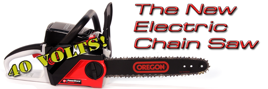 The New Electric Chainsaw